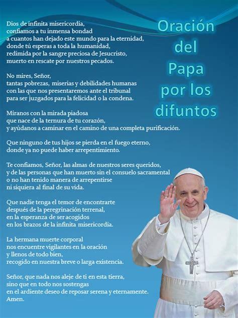 salmos de difuntos oracion del papa por los difuntos pensamientos