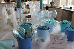 Baby Shower Table Decorations by Throwing A Baby Shower For A Boy Wise Words For Women