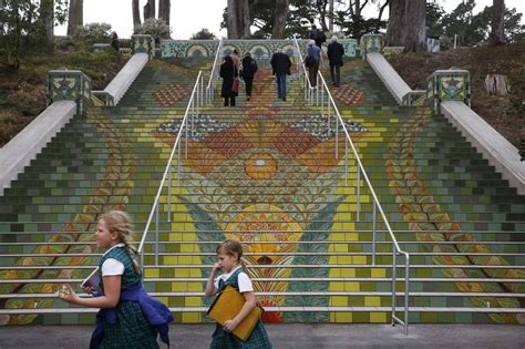 lincoln park sf stairway to lincoln park perfectly in step with