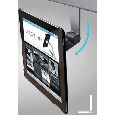 under cabinet ipad mount versastand ipad desk stand ergotech fdm ipad vsds