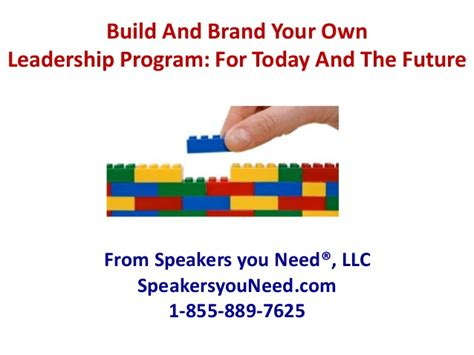 build your own home program syn build a leadership program objectives and skill sets