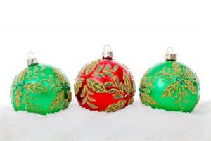 red green christmas balls free stock photo public domain