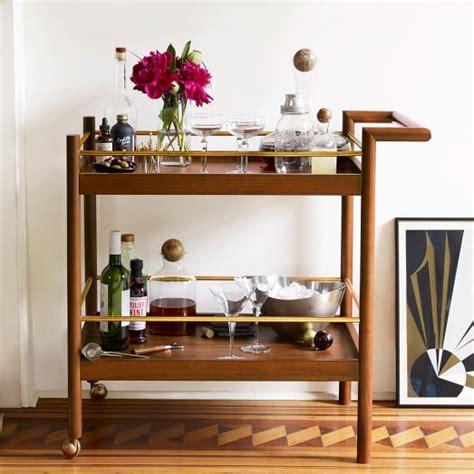 Ikea Kitchen Design Program mid century bar cart west elm