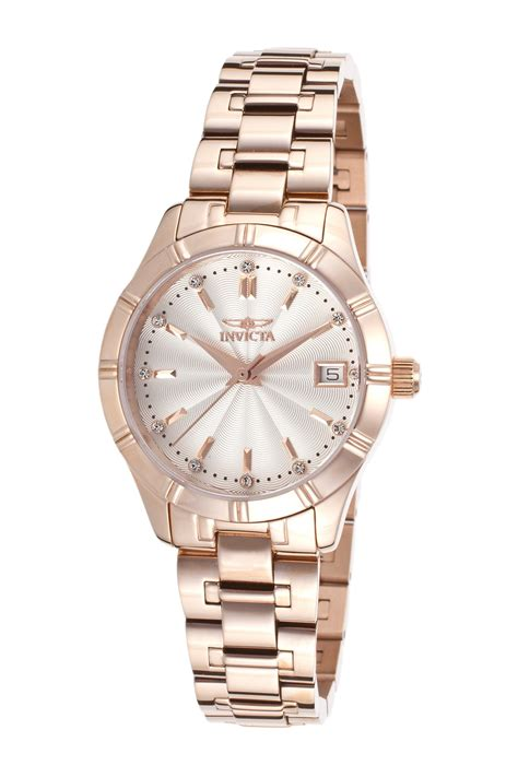 invicta s specialty 18k gold plated stainless