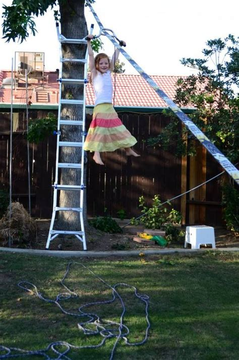 backyard zipline for kids 17 best images about how to make a zip line on pinterest