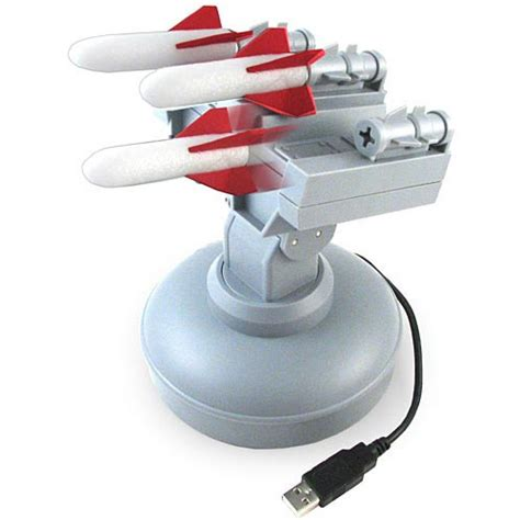 Office Desk Usb Missile Launcher Usb Missile Launcher Computer Controlled Desktop Warfare