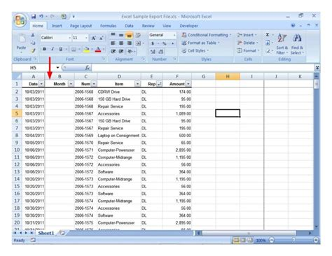 Inventory Spreadsheet Exles by Sle Of Inventory Spreadsheet Sle Of Spreadsheet