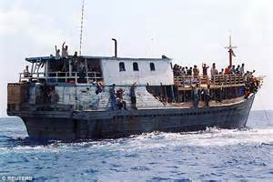 refugee boats coming to australia asylum seekers will be shipped to a desert island under