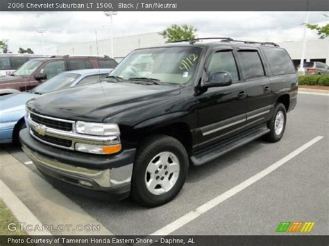 2006 Chevy Suburban by Black 2006 Chevrolet Suburban Lt 1500 Neutral