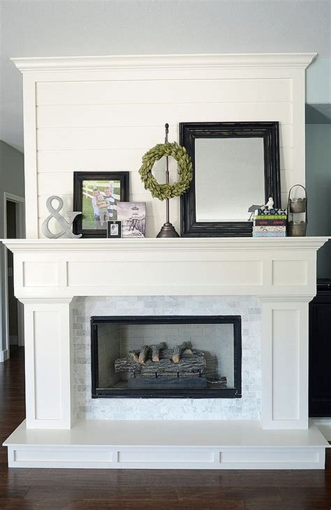25 best ideas about white fireplace mantels on