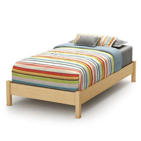 build  wood twin bed frame loccie  homes