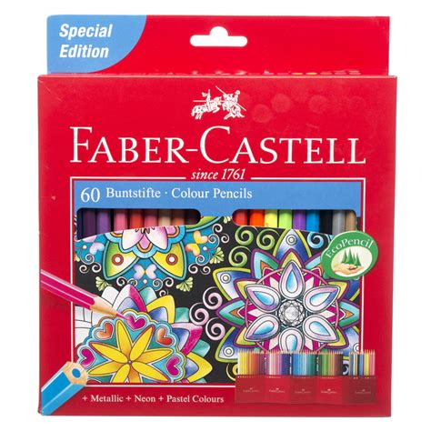 Hexagonal Pastel Bag 12w Faber Castell faber castell assorted colouring pencils metallic neon and pastel eco pack of 60 ebay