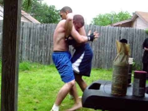 backyard mma fights mma fight backyard youtube