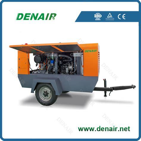 Kompresor Tekanan Tinggi Tekanan Tinggi Diesel Portabel Kompresor Udara Udara