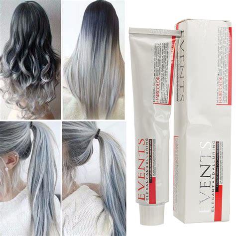 semi perm hair color vs foil hair colourants dyes semi permanent light gray hair