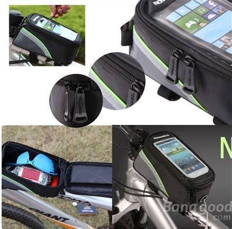 Tas Sepeda Terbaik roswheel tas sepeda waterproof untuk 4 8 inch smartphone