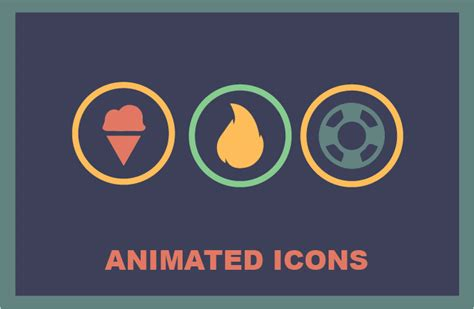 muse hover animation effects responsive muse templates animated icons responsive muse templates widgets