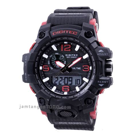 Jam Tangan Pria Cowok Digitec 2092 Original 7sbr harga sarap jam tangan digitec dg 2093t black