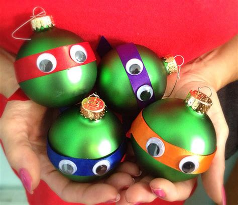 adorable diy ninja turtle christmas ornaments diy crafts