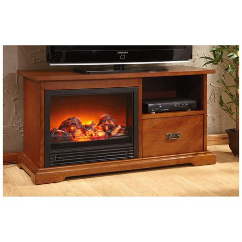 Fireplace Media Stand by Castlecreek Sawyer Fireplace Media Stand 613115 Fireplaces At Sportsman S Guide