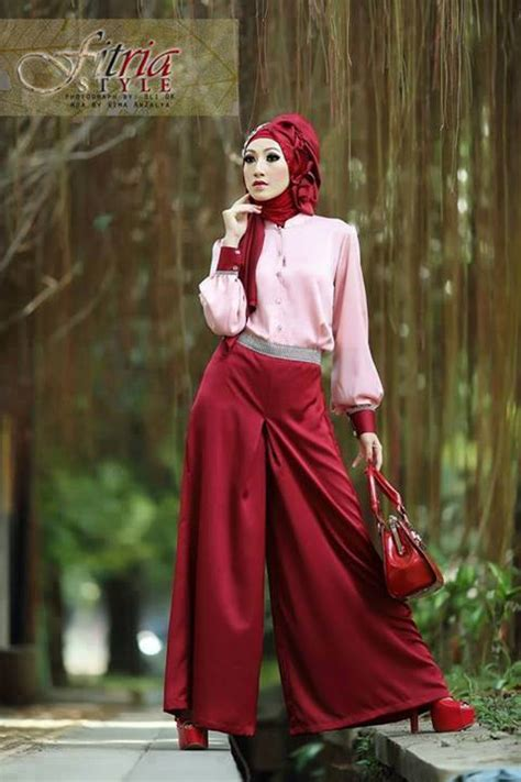 Salur Kulot Tiara Kulot busana muslim koleksi terbaru