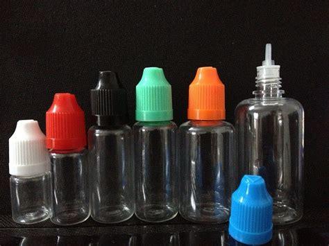 100pcs 30ml e liquid bottle 30ml pet plastic dropper bottles with childproof cap and