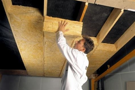 How To Install Insulation Ceiling by Ceiling Insulation Types Common Materials And Application
