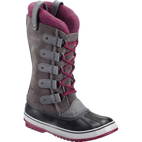 joan of arctic boot sorel s joan of arctic knit boot at moosejaw