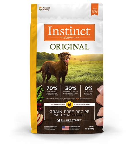 instinct puppy food for dogs instinct pet food