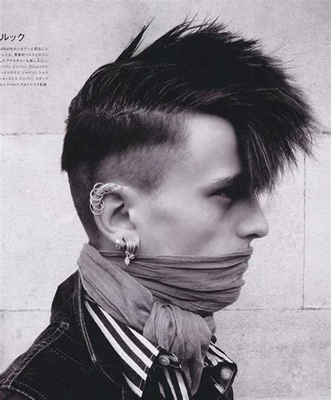 guys hairstyles punk 15 punk hairstyles for men mens hairstyles 2018