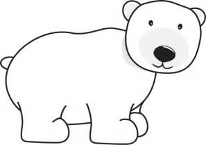 Polar bear clip art images new calendar template site