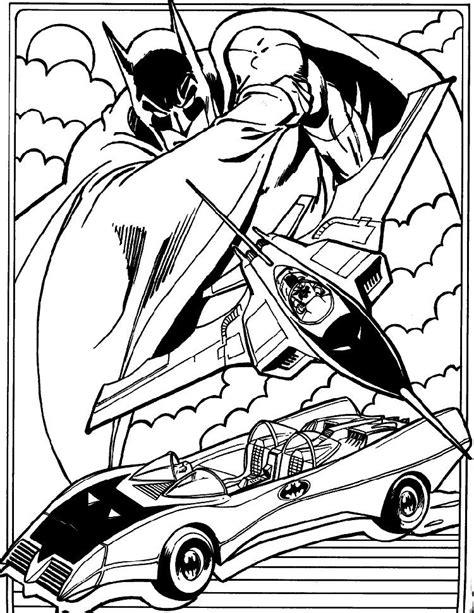 batman batmobile coloring page batmobile and bat plane batman coloring page comic book