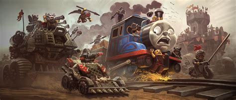 wallpaper engine crashing thomas the tank engine wallpaper and background 1920x817