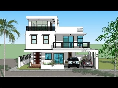 the awesome and also beautiful new model house design