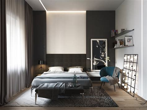 black bedroom black and white master bedroom shows the stretch of the