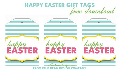 free printable name tags for easter 5 best images of printable easter labels free printable