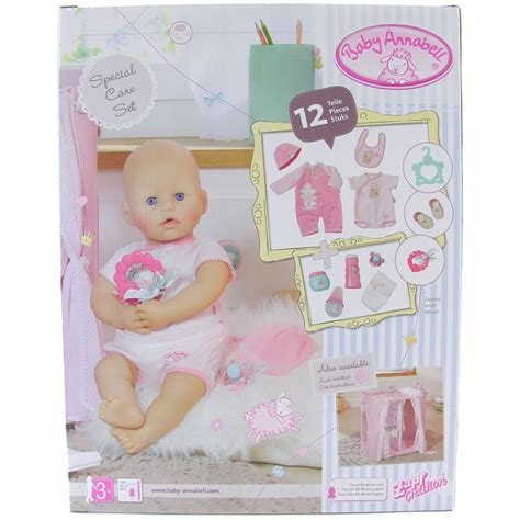 baby annabell special care set 12 new ebay