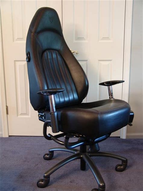 Armchair Car by Racechairs Sports Car Seats For The Cubicle Geekologie