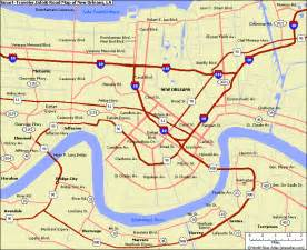 us map new orleans image search results