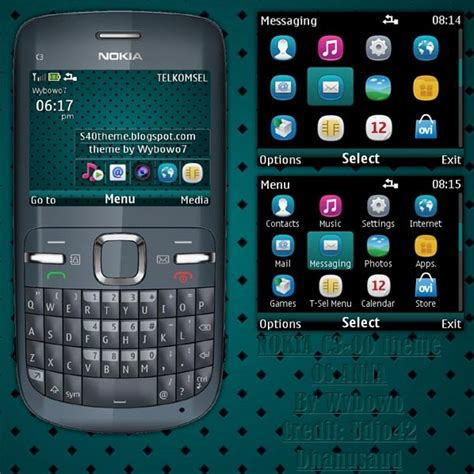 themes of nokia asha 200 nokia c3 00 320x240 s406th themes os anna asha 200