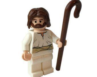 Lego Jesus Minifigure custom lego 174 minifigure jesus the by mountainofawesome all things lego