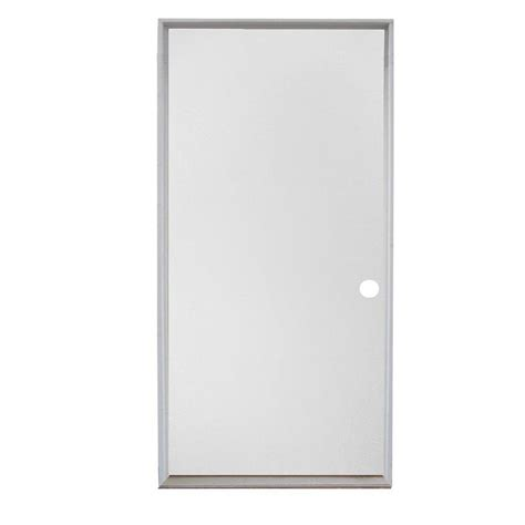 Flush Entry Door by Shop Reliabilt Flush Insulating Right Inswing