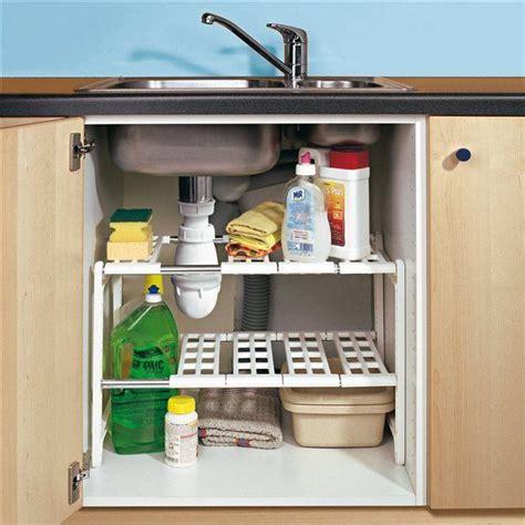rangement evier cuisine les 25 meilleures id 233 es concernant rangement sous evier