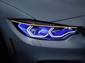 bmw beleuchtung bmw displays m4 concept iconic lights at ces 2015