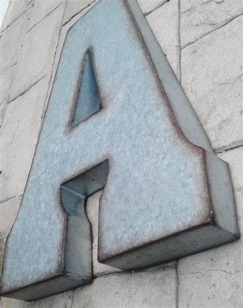 large metal letters 2 x large metal letter zinc steel initial home room decor diy 1349