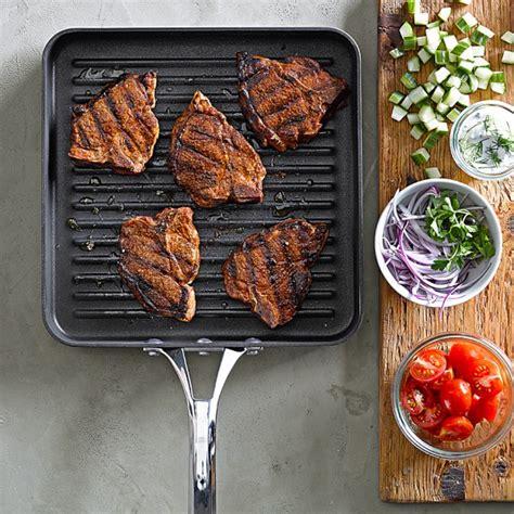 Teflon Grill Pan calphalon elite nonstick square grill pan williams sonoma