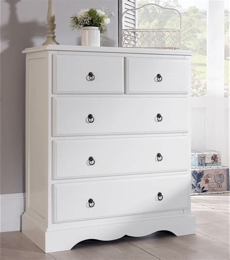 Vintage White Chest Of Drawers by Antique White Bedroom Furniture Bedside Table Chest Of Drawers Bed Ebay