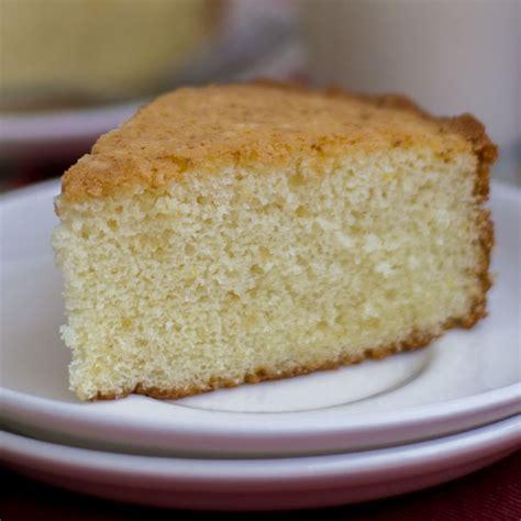 basic plain vanilla sponge cake hot milk cake moist and fluffy