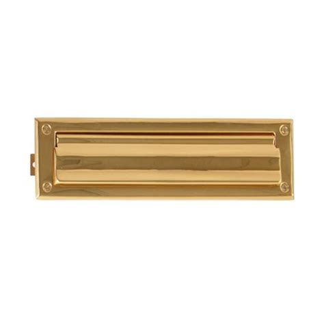 Mail Slot For Door brass accents a07 m0050 605 3 quot x 10 quot door mail slot in polished brass