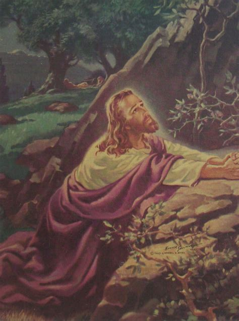 jesus in the garden of gethsemane painting image search